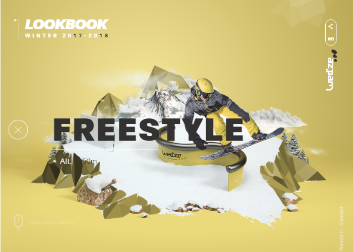 Freestyle Wed ze Lookbook Winter 2017 2018