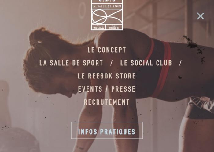 La salle de sport Paris